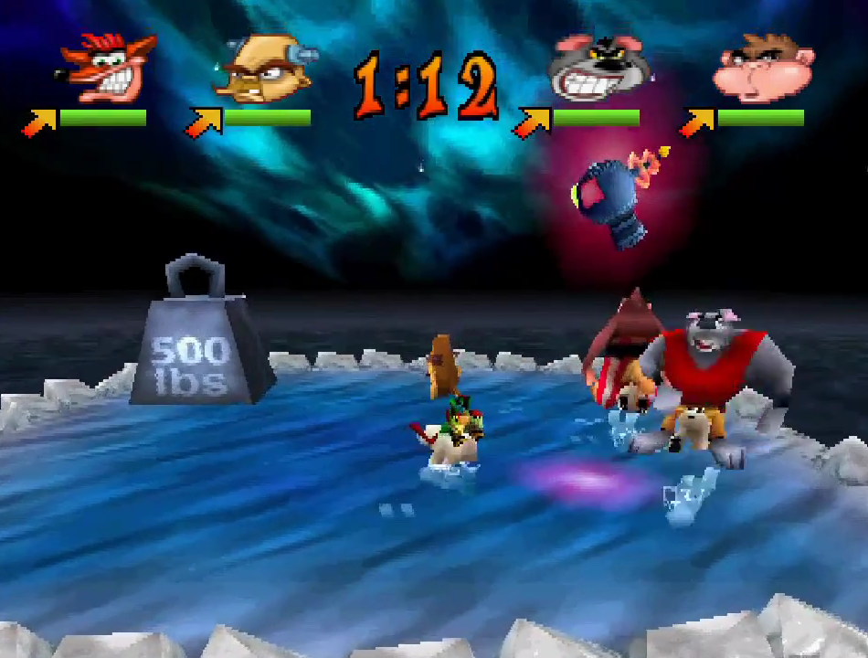 Crash Bash ROM (ISO) Download for Sony Playstation / PSX