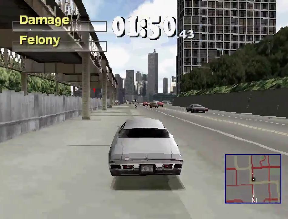Driver 2 Playstation Screenshot