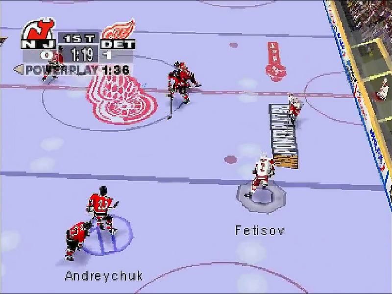 NHL Powerplay 98 Download Game | GameFabrique