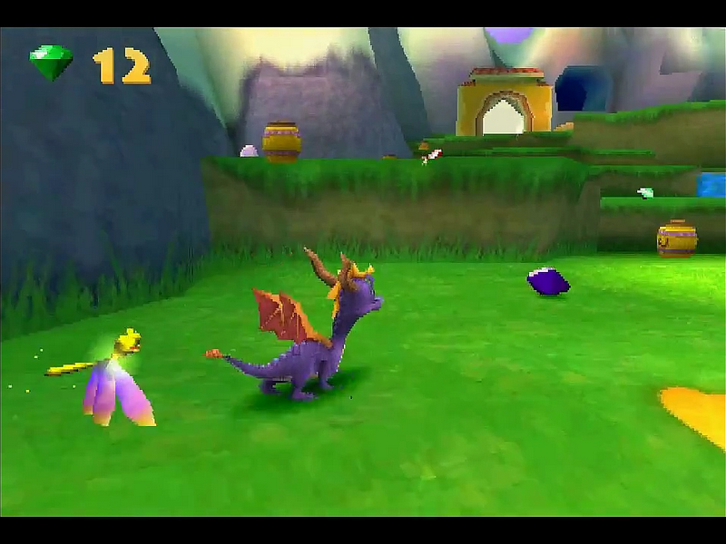 Game spyro year of the dragon