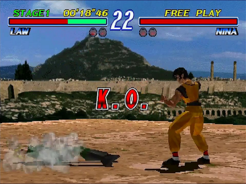 tekken 2 playstation