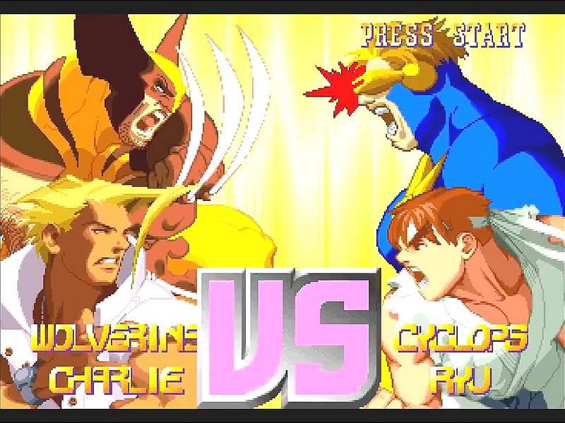 X Men Vs Street Fighter Download Game Gamefabrique
