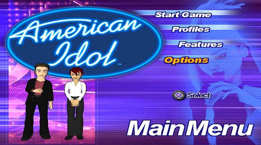 american idol game song list