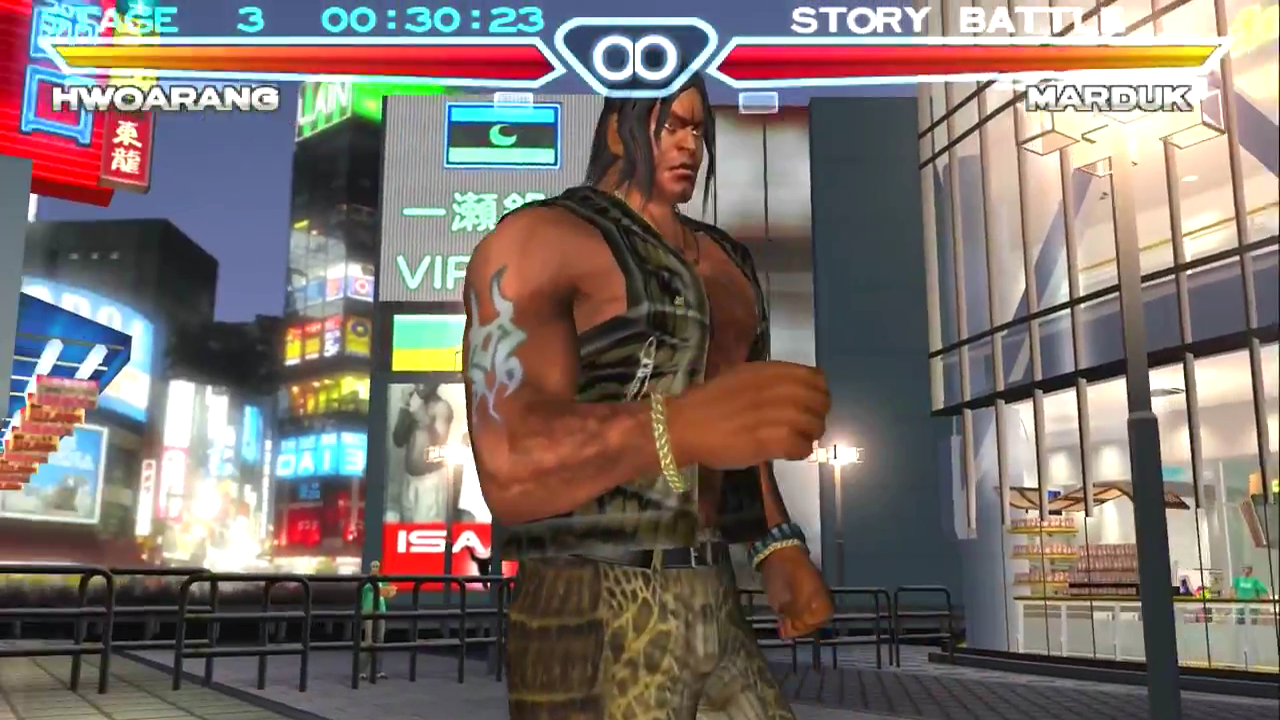 tekken 4 craig marduk tag tournament 2