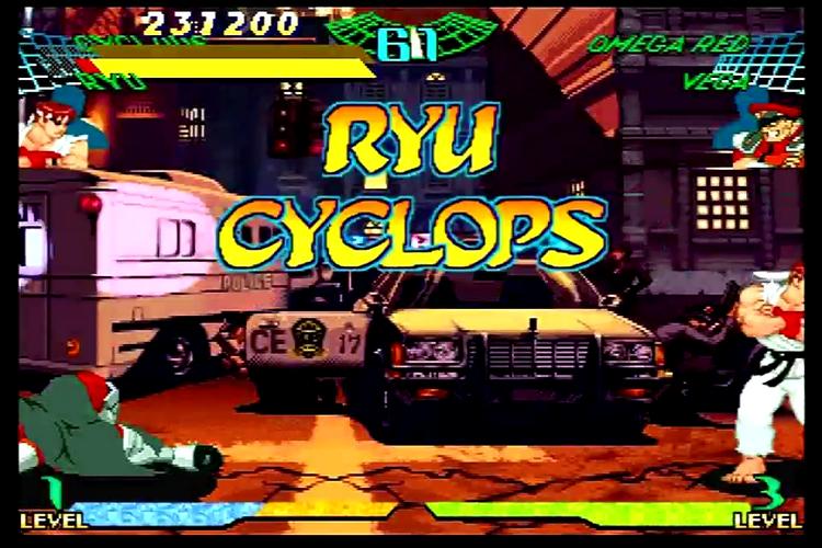 Marvel Super Heroes Vs  Street Fighter Download Game