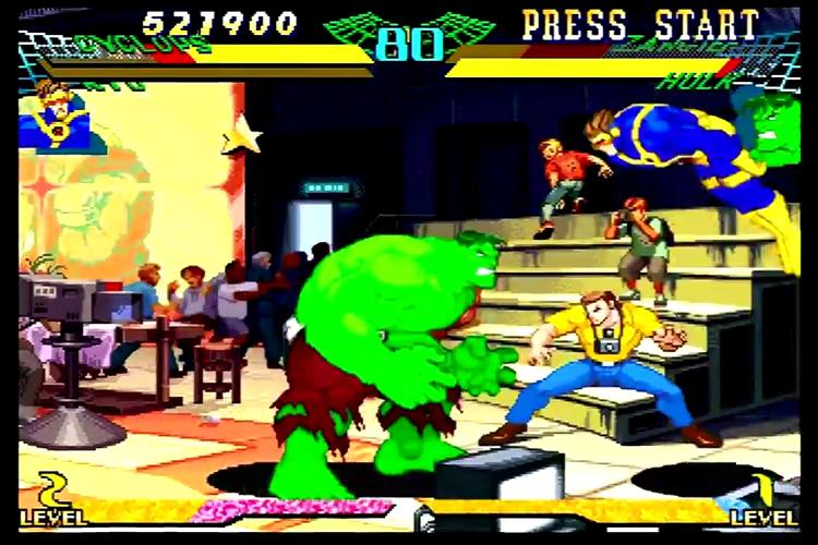 marvel super heroes vs street fighter download apk