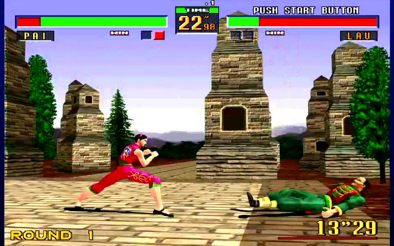Virtua fighter 2 gameplay pc youtube.