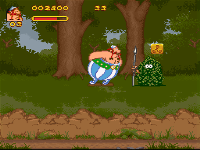 asterix and obelix video game