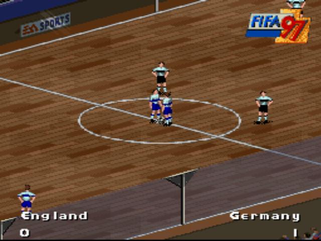 FIFA 97 - Gold Edition Screenshot