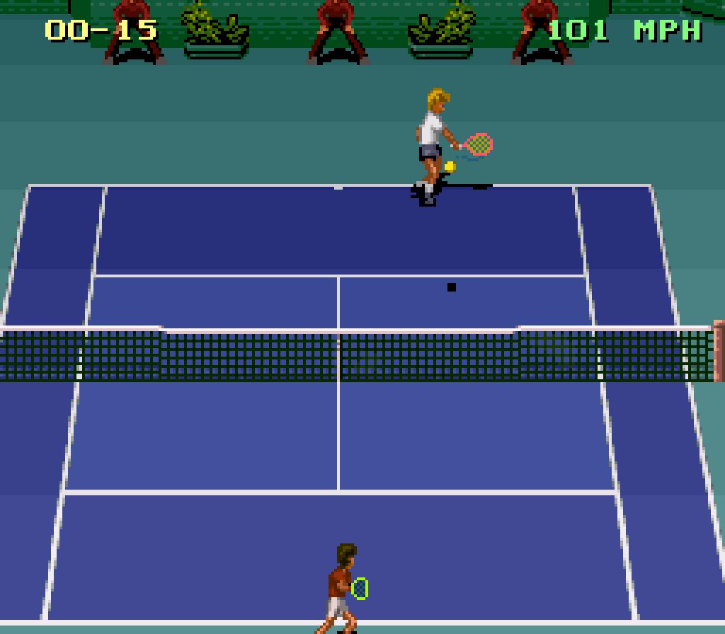 Jimmy Connors Pro Tennis Tour Snes