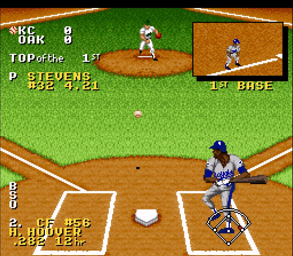 f5bc1fa8b1 ... Ken Griffey Jr. Presents: Major League Baseball SNES Screenshot ...