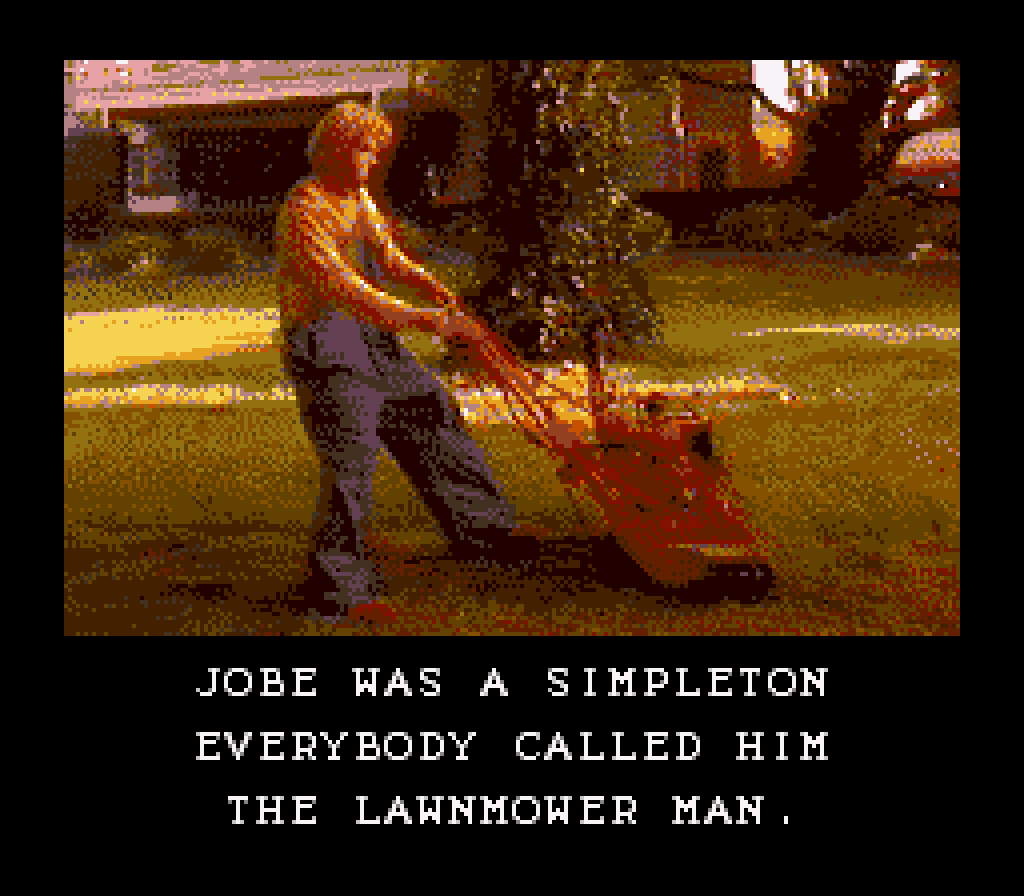 The Lawnmower Man Screenshots Gamefabrique
