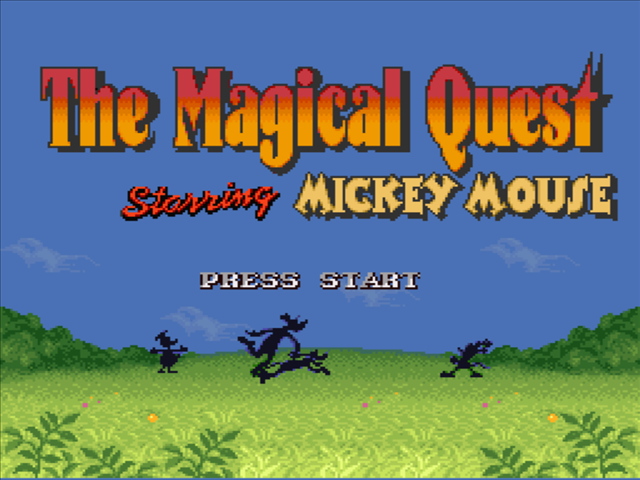 The Magical Quest: Starring Mickey Mouse Download Game