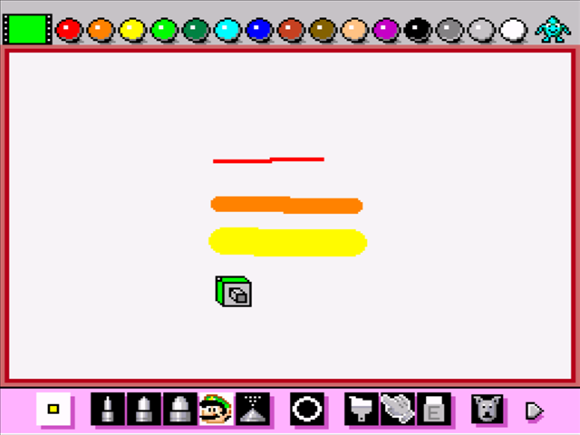 Mario paint download game gamefabrique for Painting games com