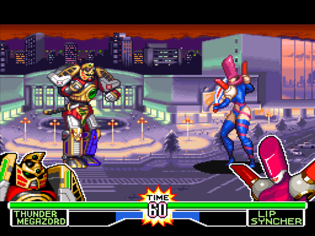2 player power rangers fighting games