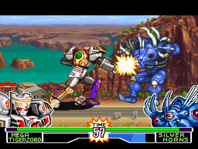 Mighty Morphin Power Rangers Fighting Edition Download Game