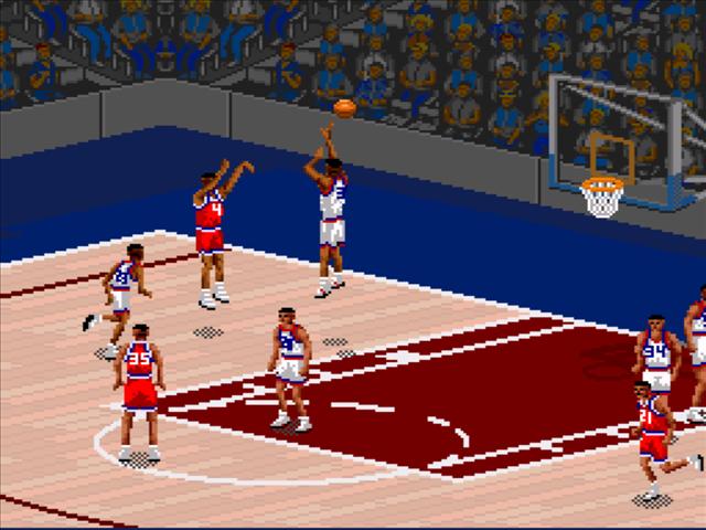 NBA Live 95 Screenshots | GameFabrique