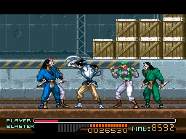 The Ninja Warriors Screenshots | GameFabrique