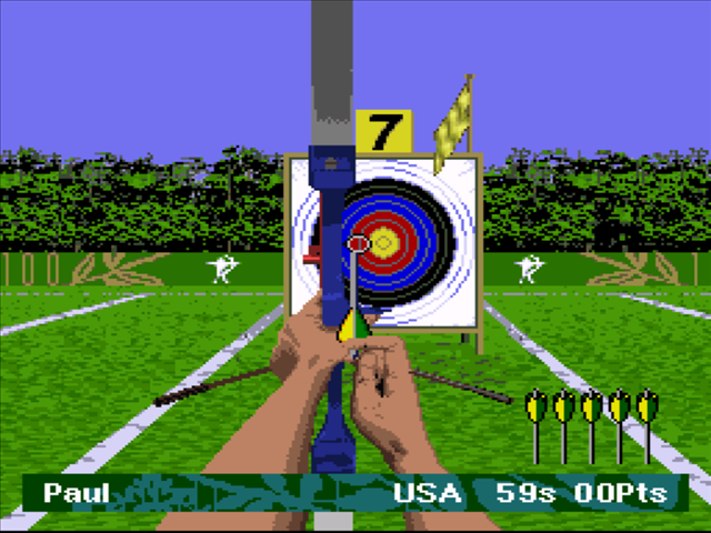 Olympic Summer Games Atlanta 96 Screenshots