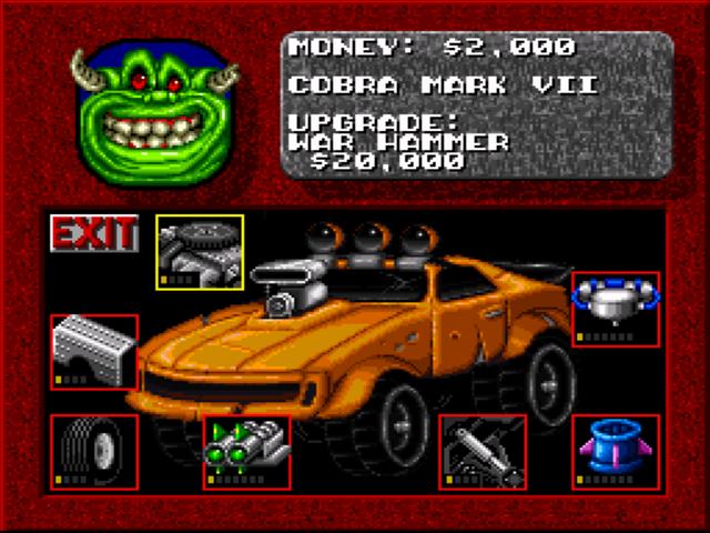 Rock N Roll Racing Screenshots Gamefabrique