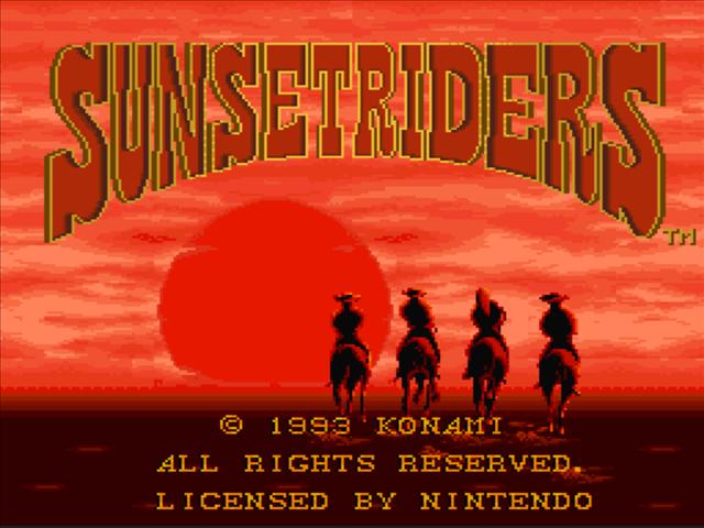 Sunset Riders SNES