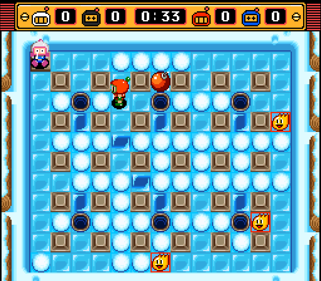Play super bomberman 2 online snes game rom super nintendo.