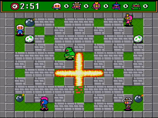 Super Bomberman 3 Down...