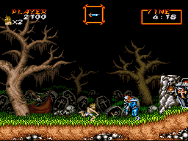 View all 7 Super Ghouls 'n Ghosts screenshots