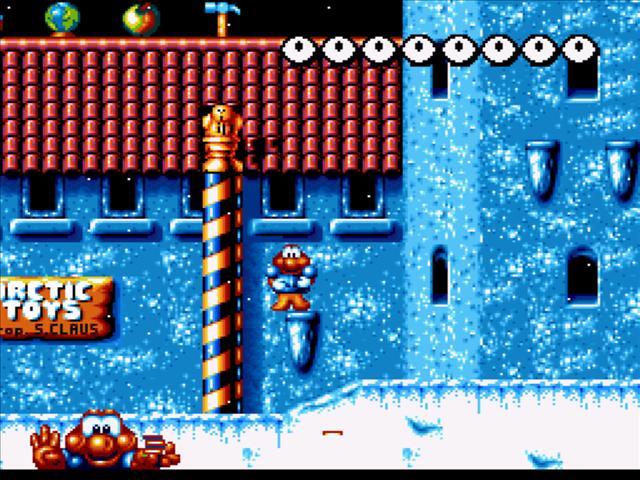 Super James Pond Screenshot