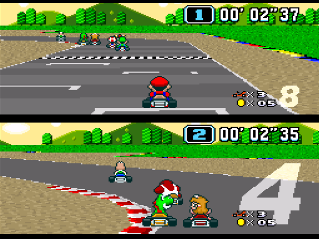 Super Mario Car Racing Games Online