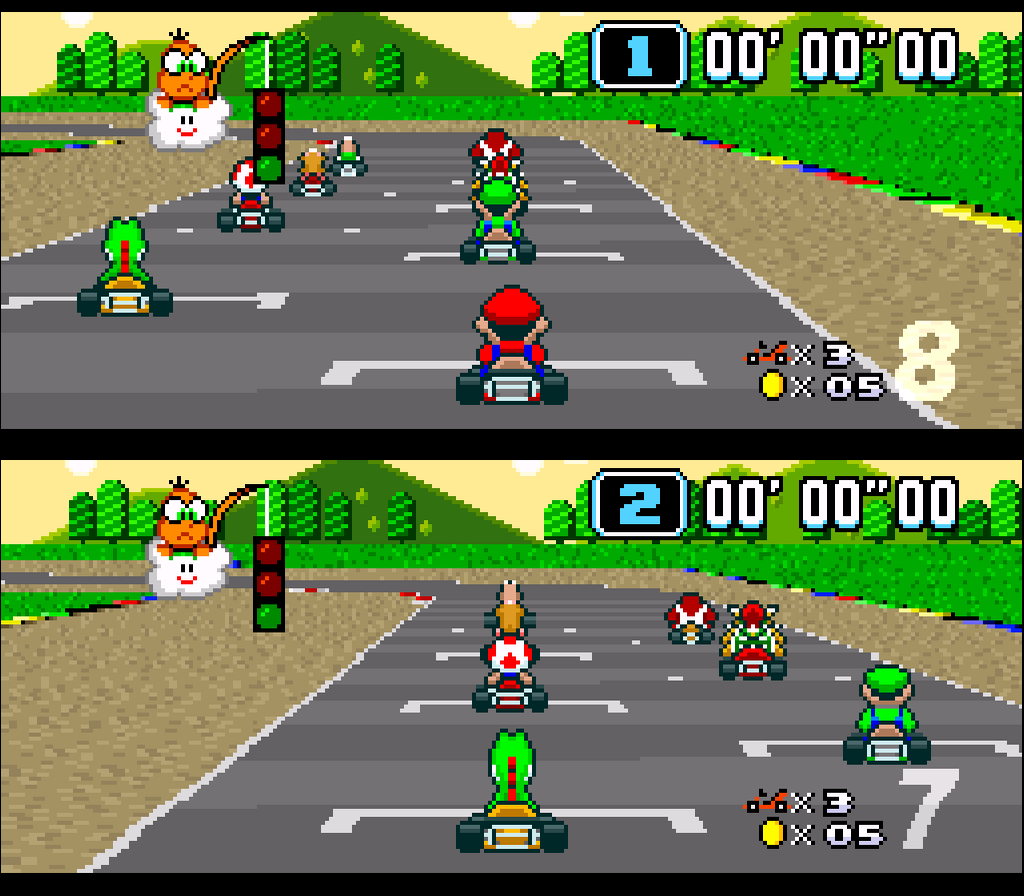 Play Super Mario Car Race Games Online