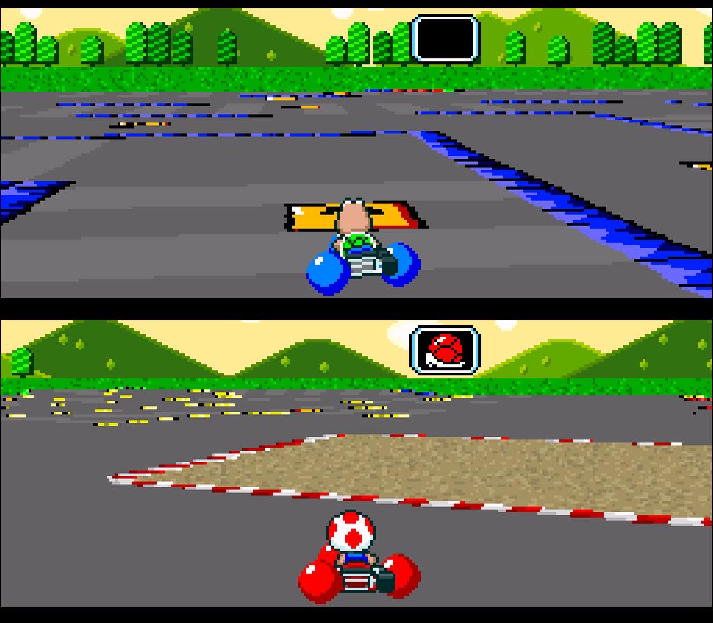 Super Mario Kart Screenshots Gamefabrique