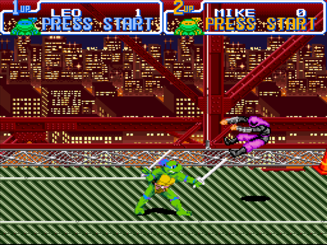 Tmnt Turtles In Time Cheats