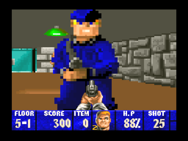 Wolfenstein 3d download game gamefabrique for Wolfenstein 3d