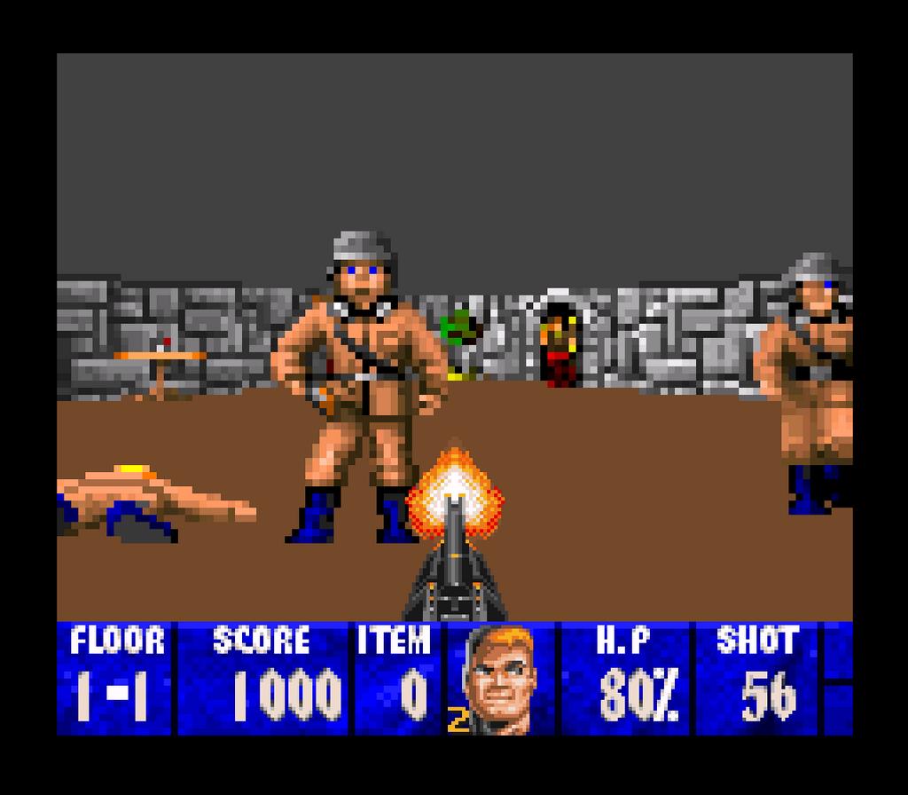 Wolfenstein 3D Screenshots